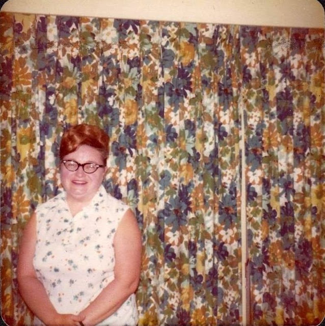 1950s curtains