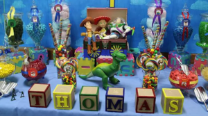 Toy Story Candy Buffet