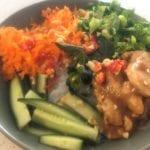 Bún Chay- Vietnamese noodle salad