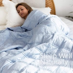 Weighted blanket travel friendly-Luxuries to treat yourself to