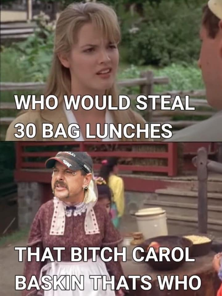 Billy Madison Tiger King Meme