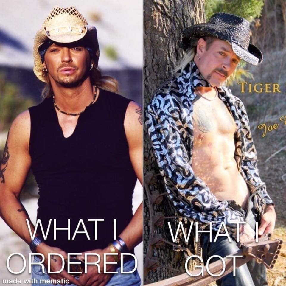 Bret Michaels joe exotic meme