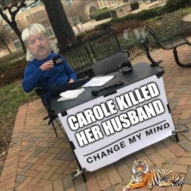 CAROLE BASKIN KILLED HER HUSBAND CHANGE MY MIND