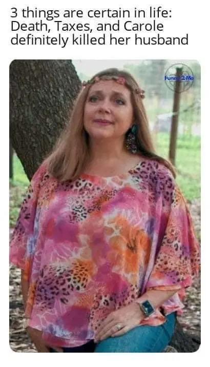CAROLE BASKIN KILLED HER HUSBAND MEME