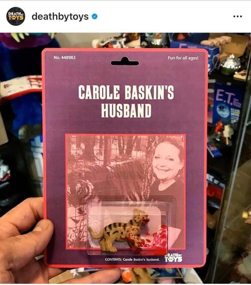 CAROLE BASKINS HUSBAND FIGURINE