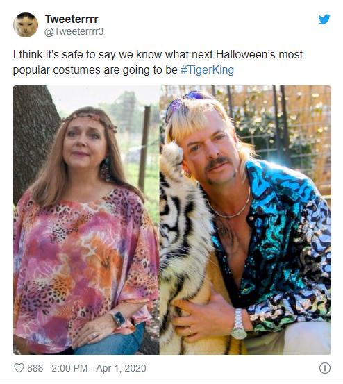 Halloween Tiger King Meme