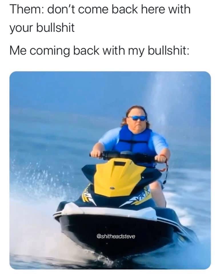 James Garretson jetski meme