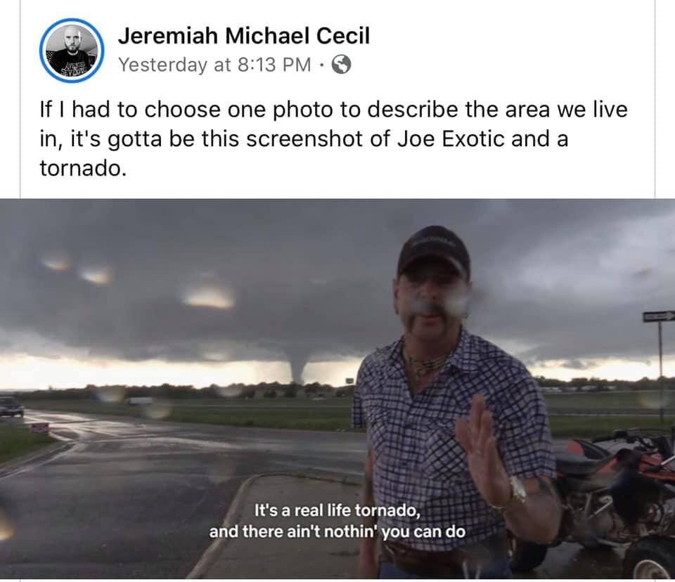 Joe Exotic Tornado