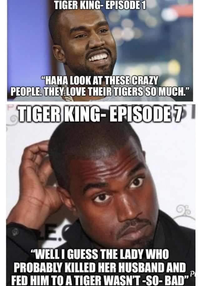 KANYE WEST TIGER KING