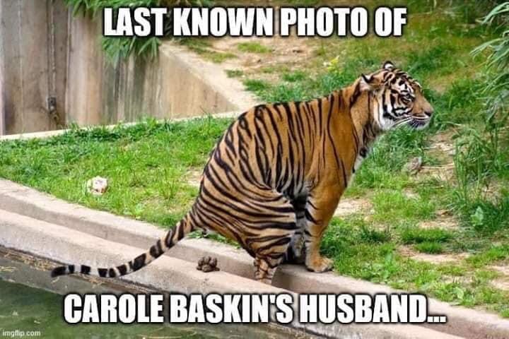 LAST KNOWN PHOTO OF CAROLE BASKINS HUSBAND