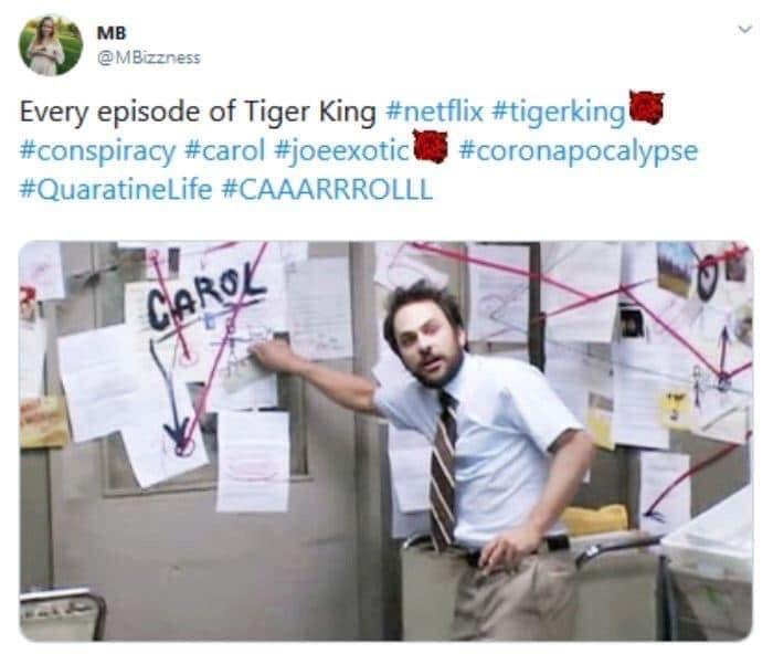 always sunny in philadelphia tiger king conspiracy meme