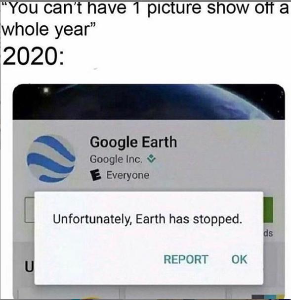 coronavirus google Earth meme reddit LazyLuna678
