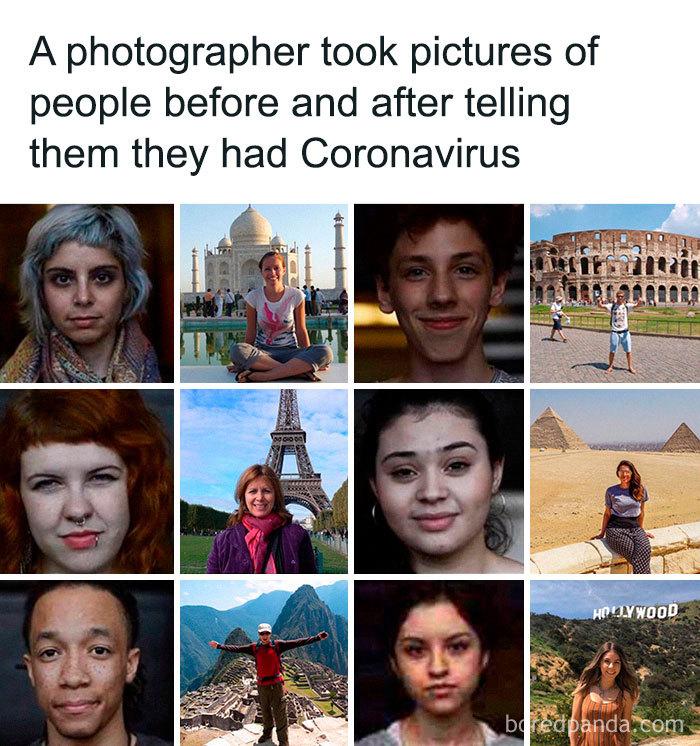 coronavirus travel meme