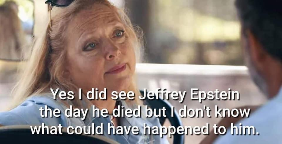 jeffrey epstein didn't kill himself carole baskin