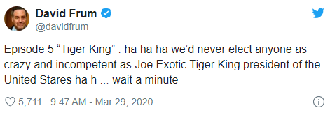 joe exotic donald trump tweet