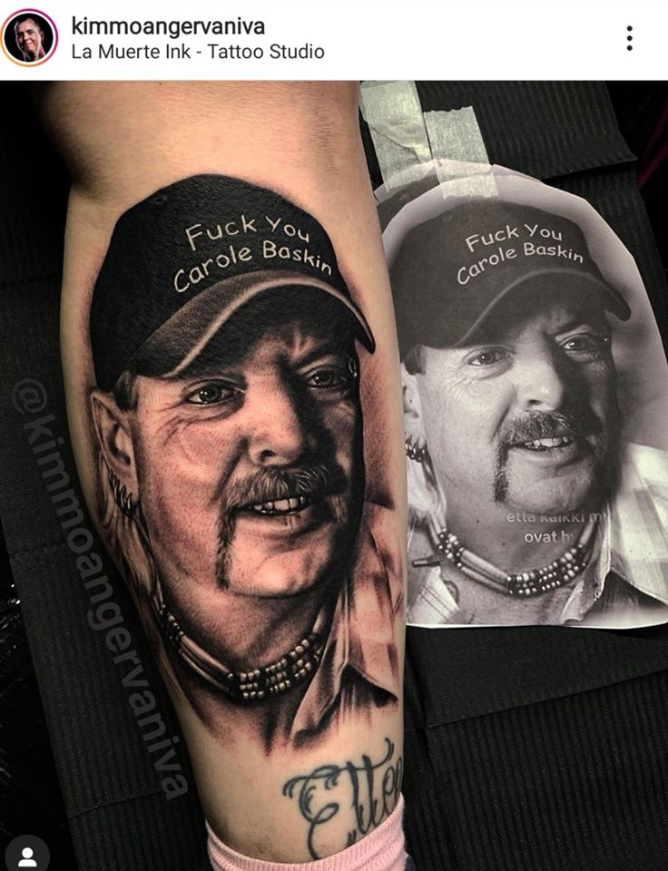 joe exotic tattoo