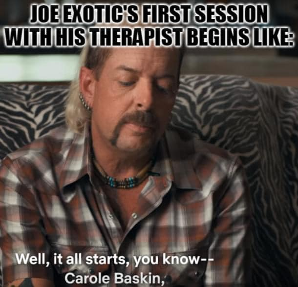 joe exotic therapist