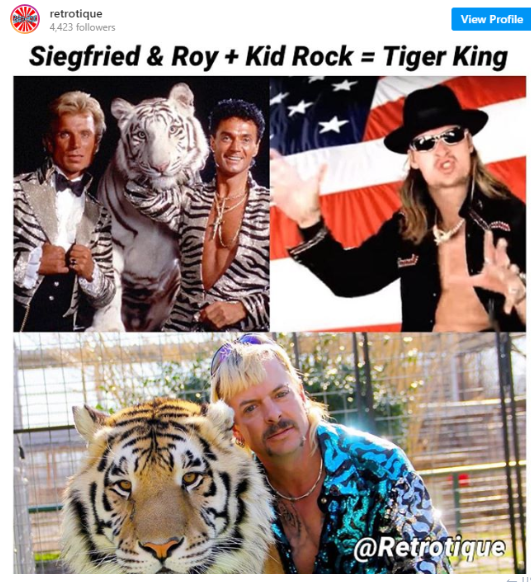sigfried & roy & kid rock & joe exotic
