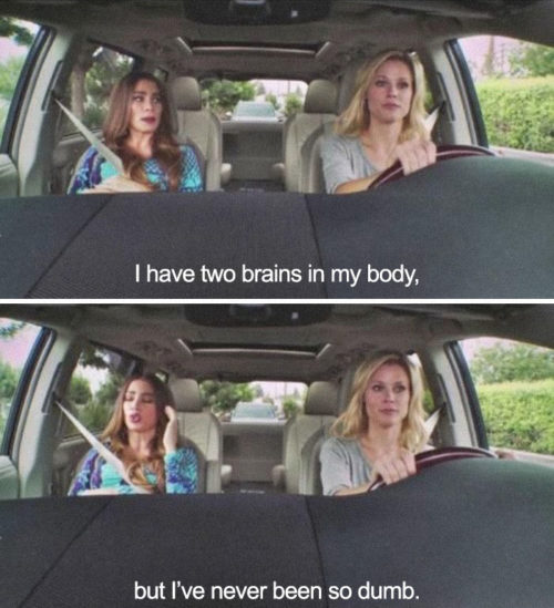 pregnancy-memes-I have 2 brains in my body but I have never been so dump modern family