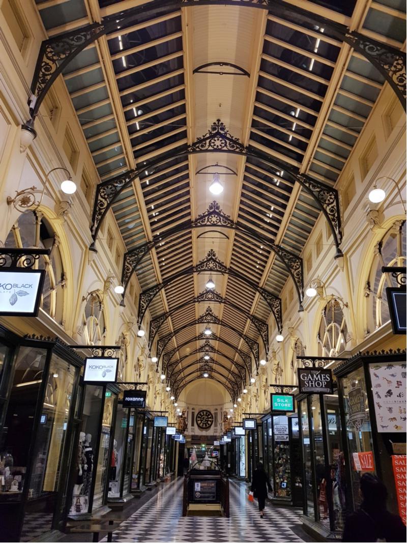 Cathedral Arcade Melbourne Laneway 2018