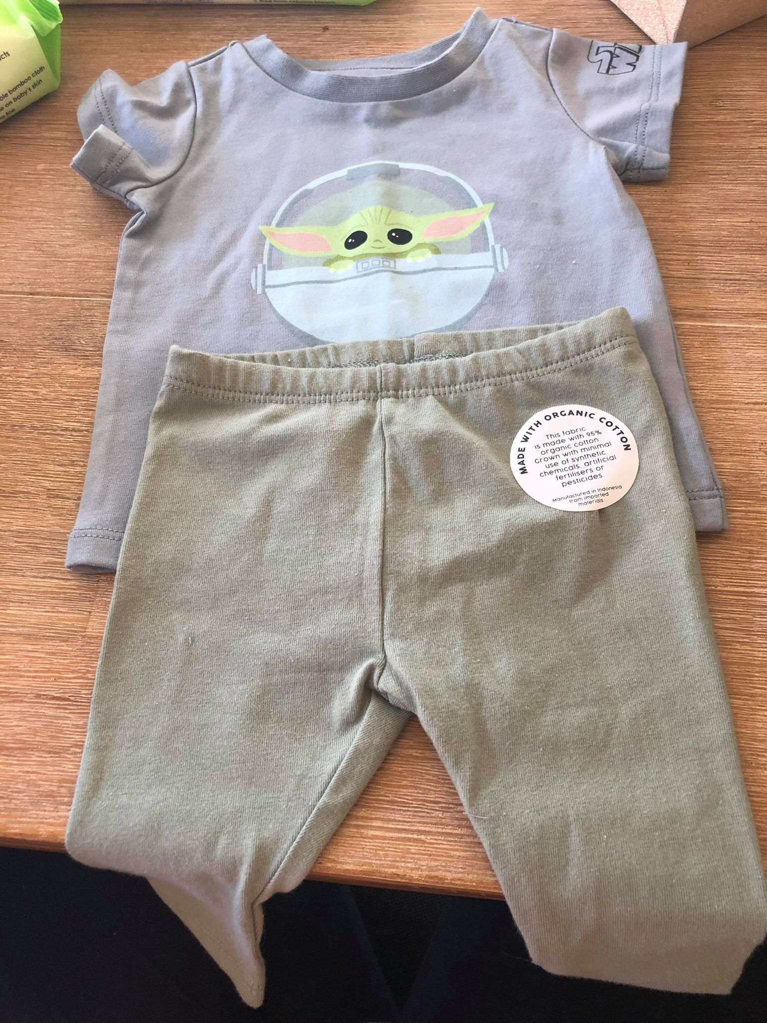baby yoda baby clothes