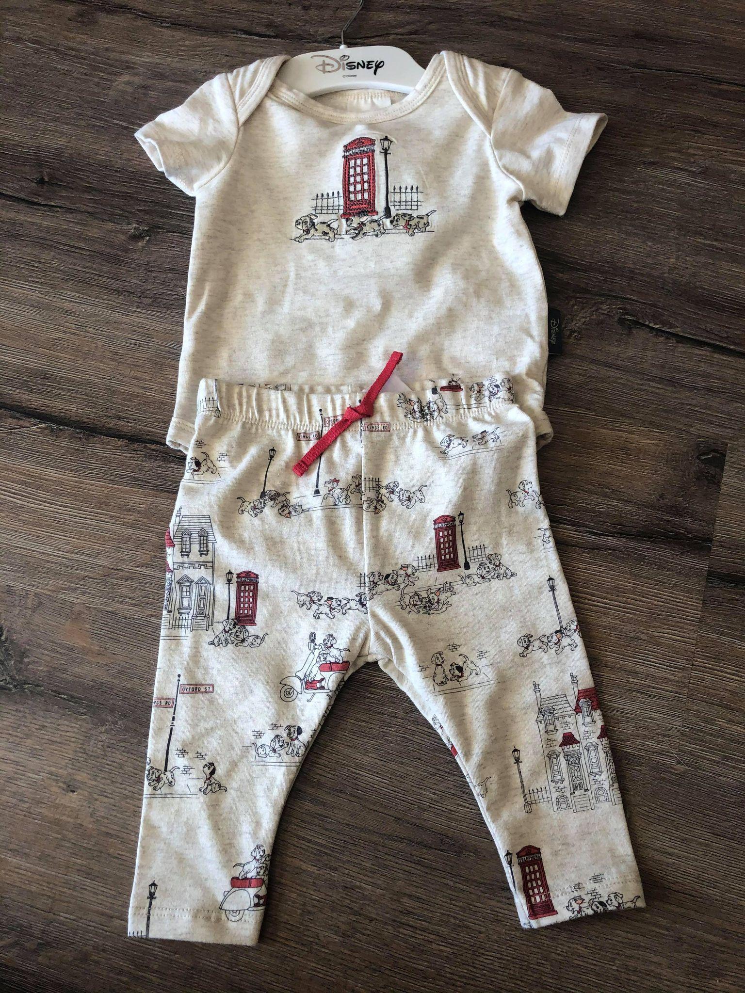 david jones baby 101 dalmations pants top t shirt onesie - Copy