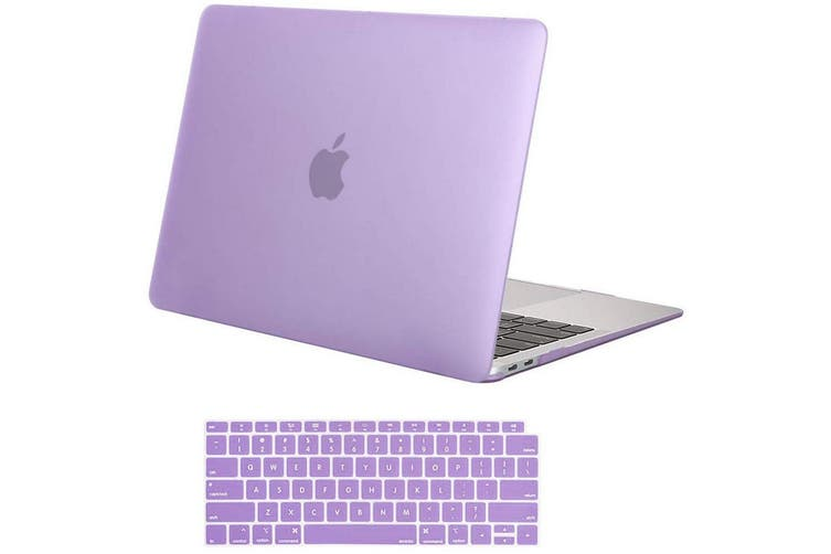 macbook cover and keyboard cover purple pastel lavender-gift ideas for young women