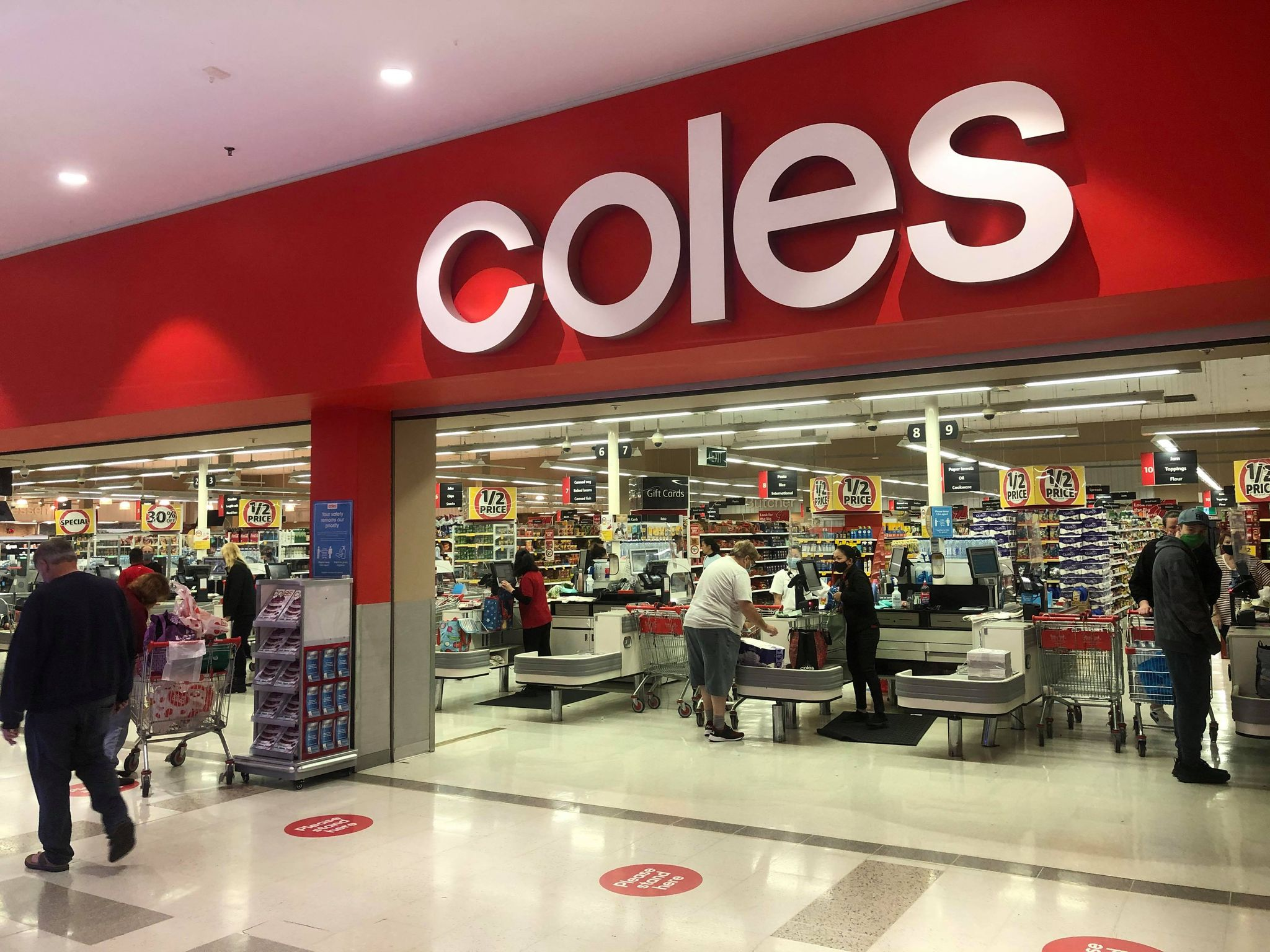 pacific werribee december 2020 coles