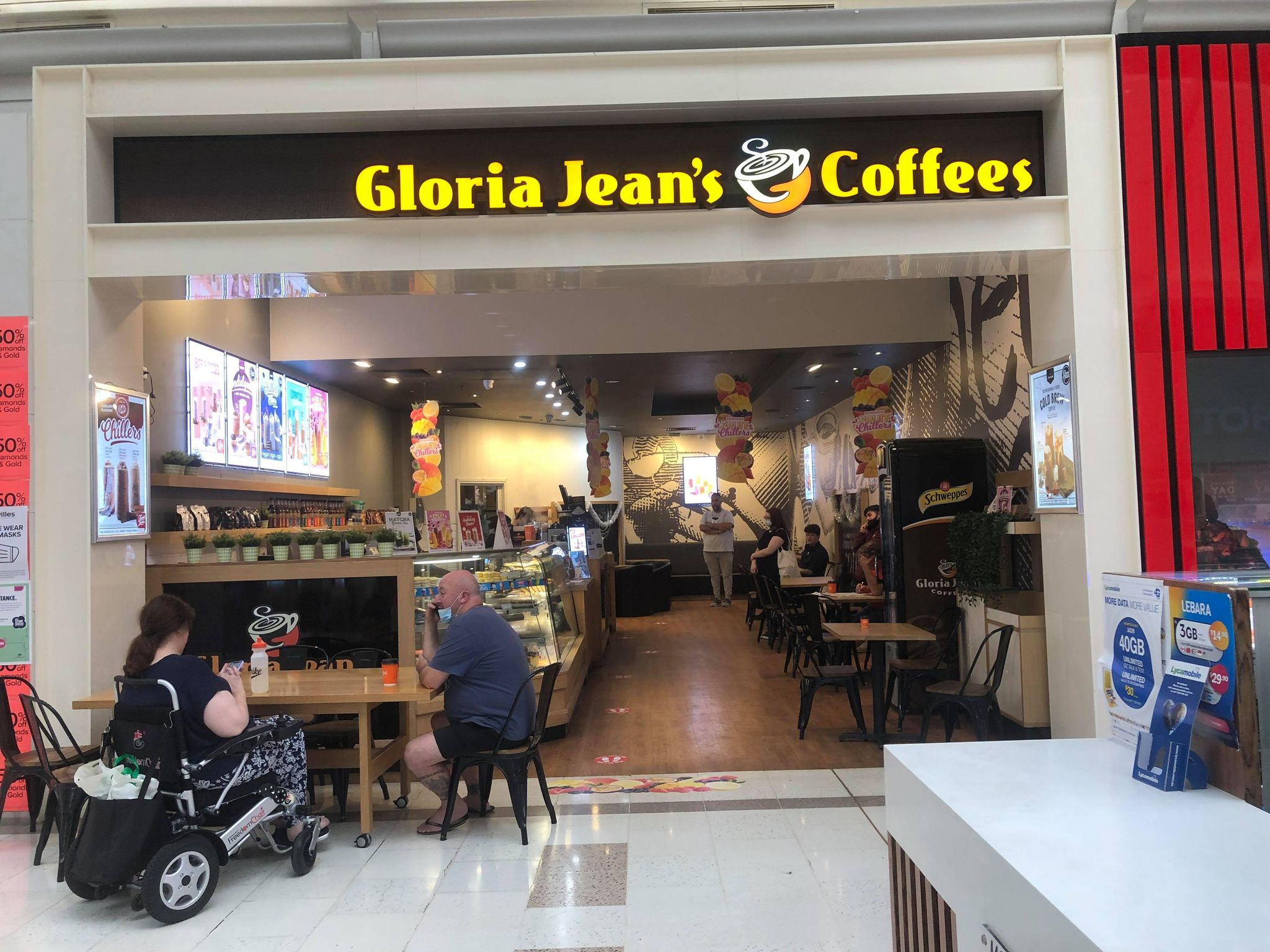 pacific werribee december 2020 gloria jeans coffees