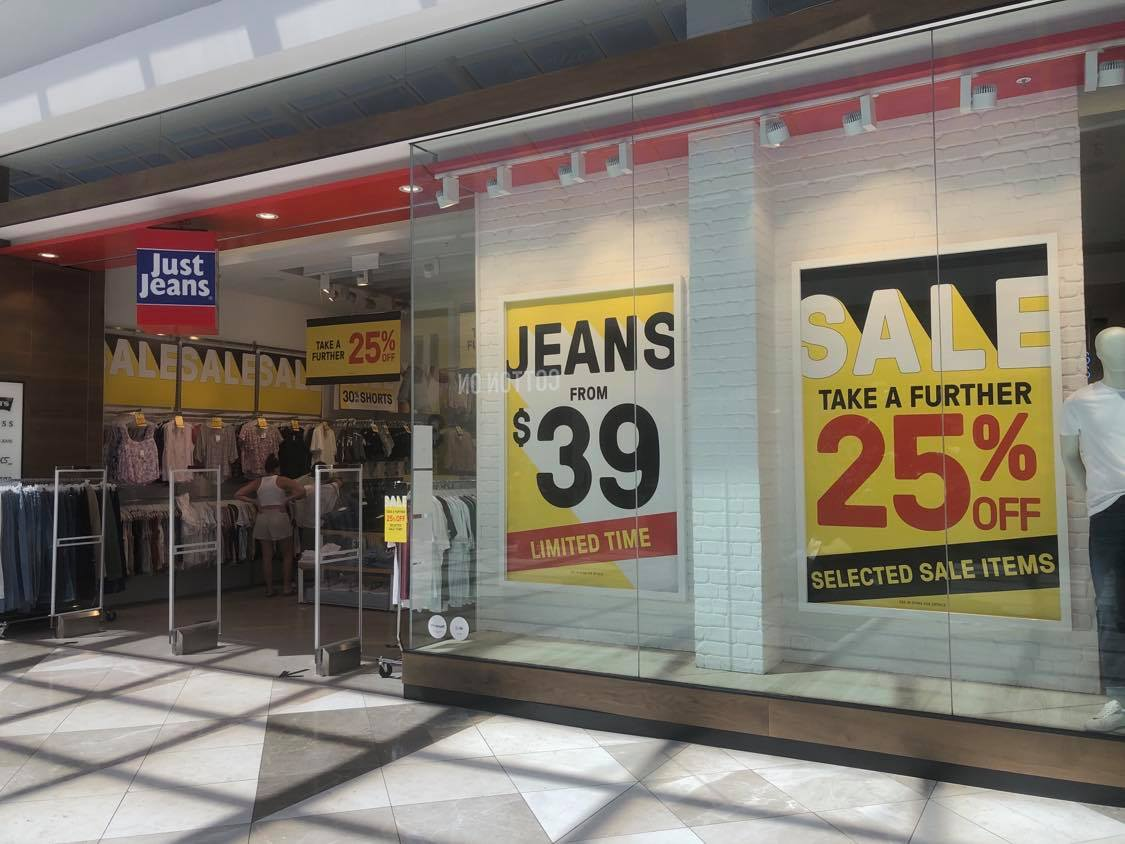pacific werribee december 2020 just jeans