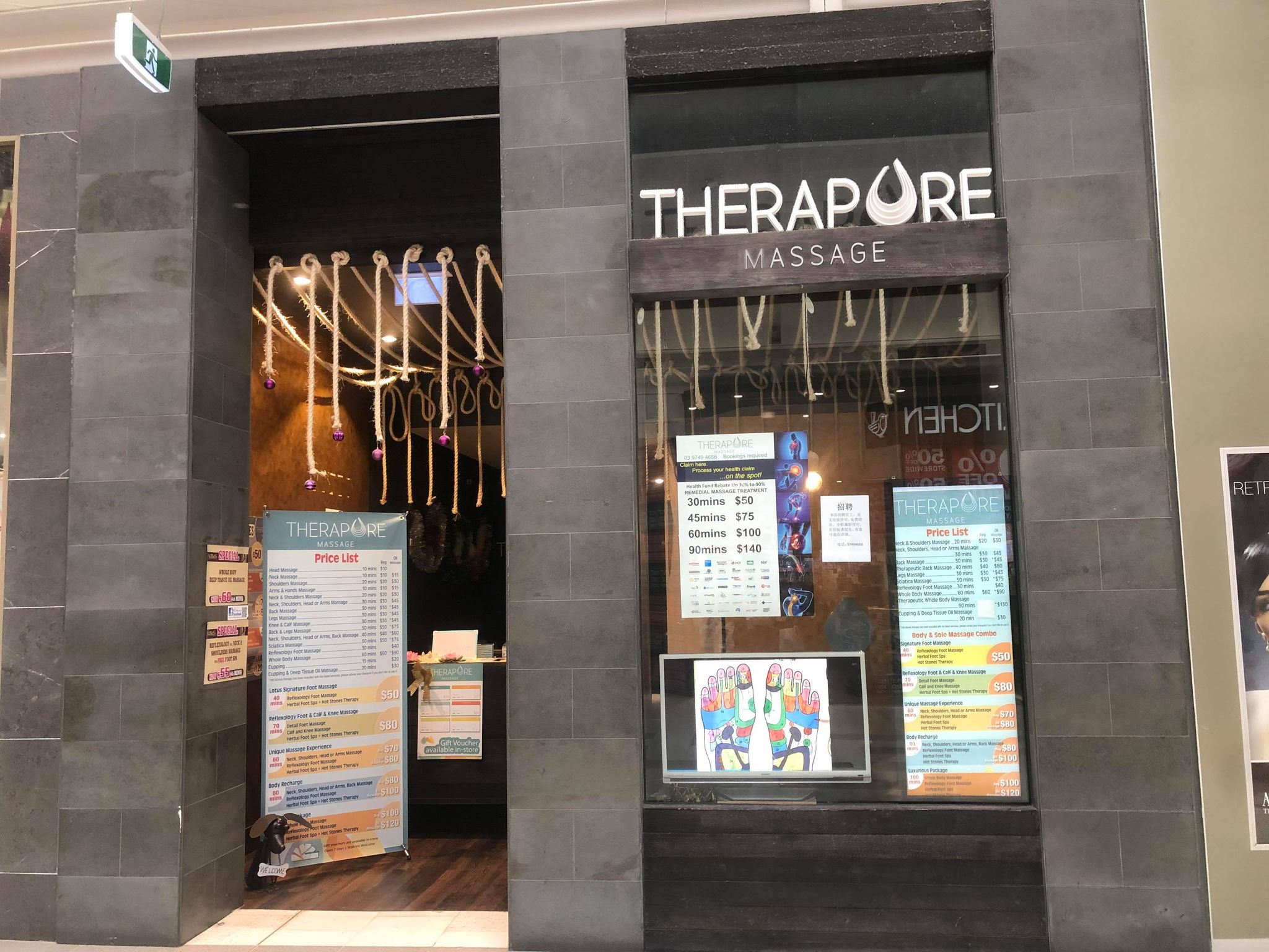 pacific werribee december 2020 therapure massage