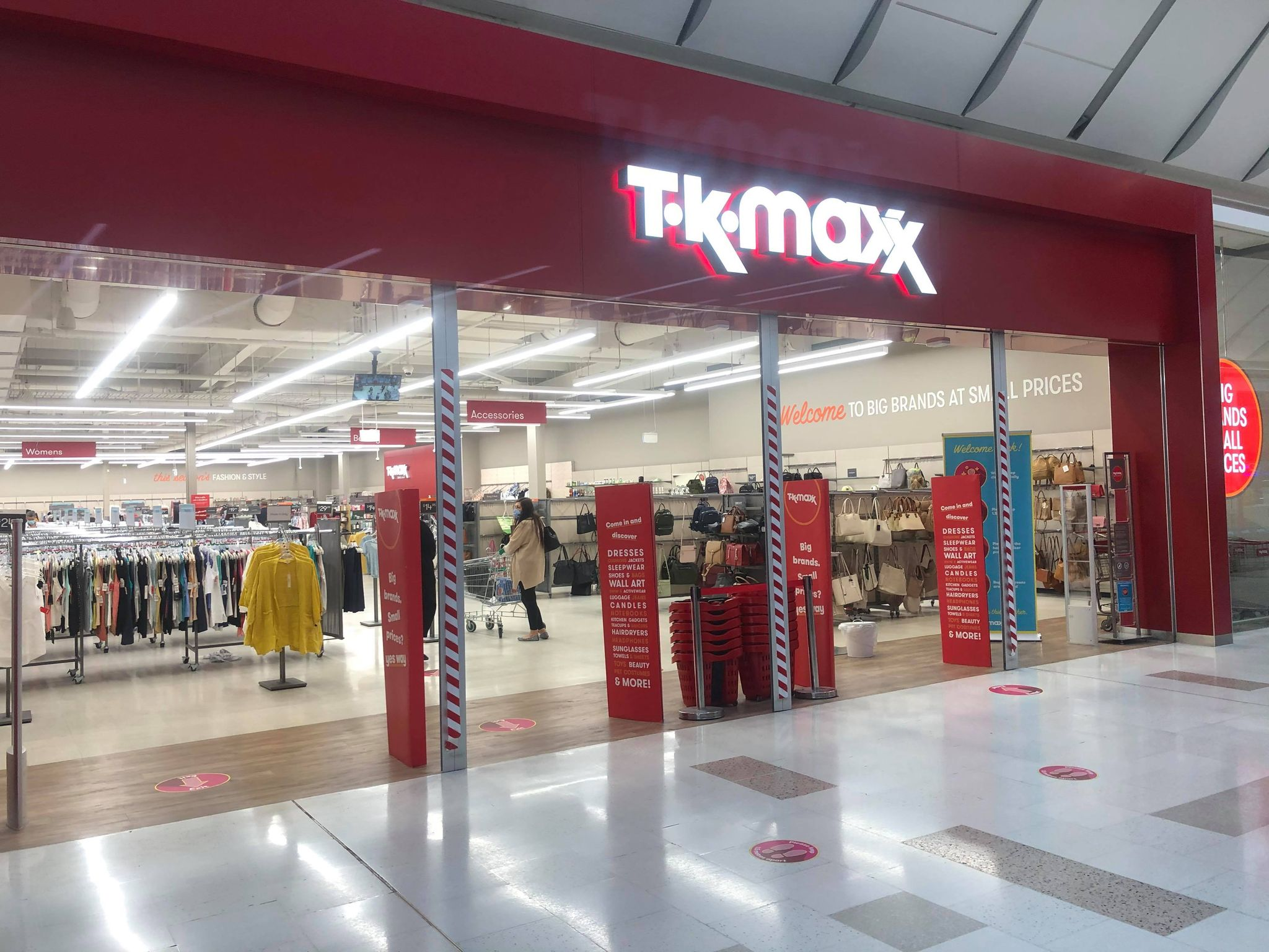 pacific werribee december 2020 tk maxx