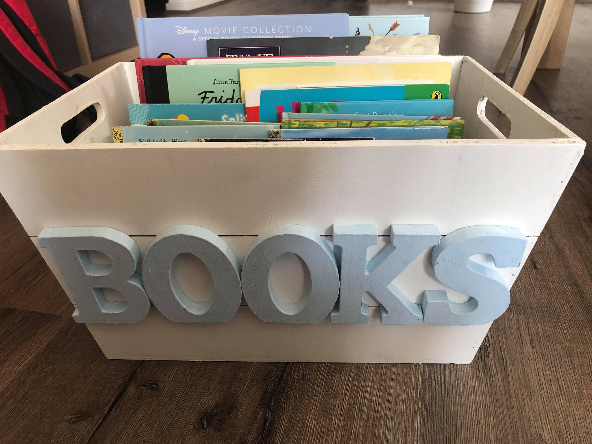personalised baby shower gift-homemade book box - Copy