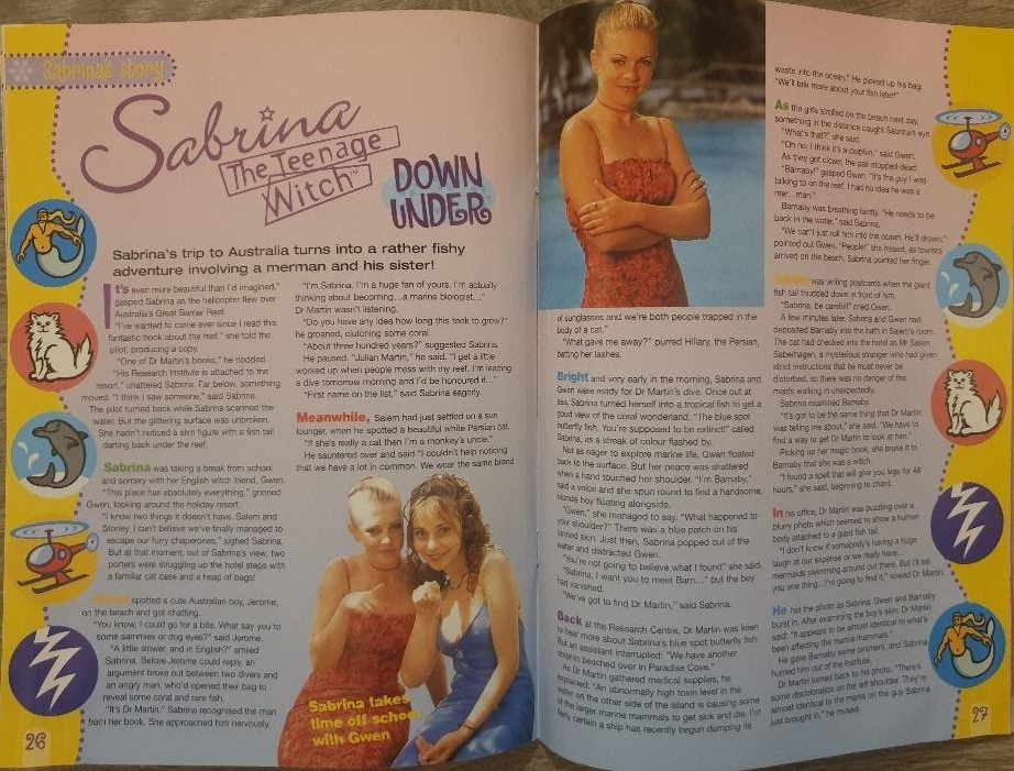 sabrina down under sabrinas secrets magazine