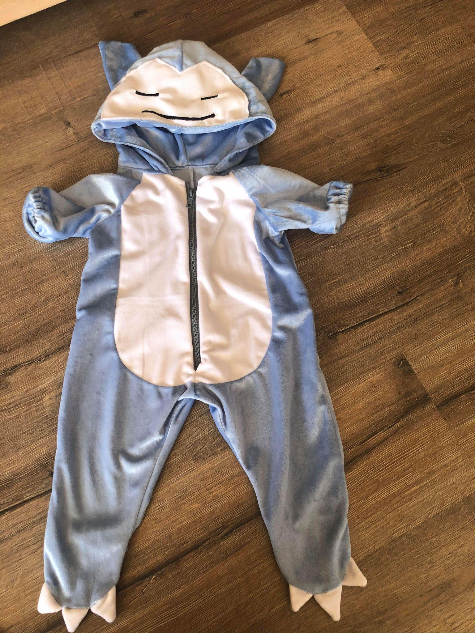 snorlax baby onesie size 1
