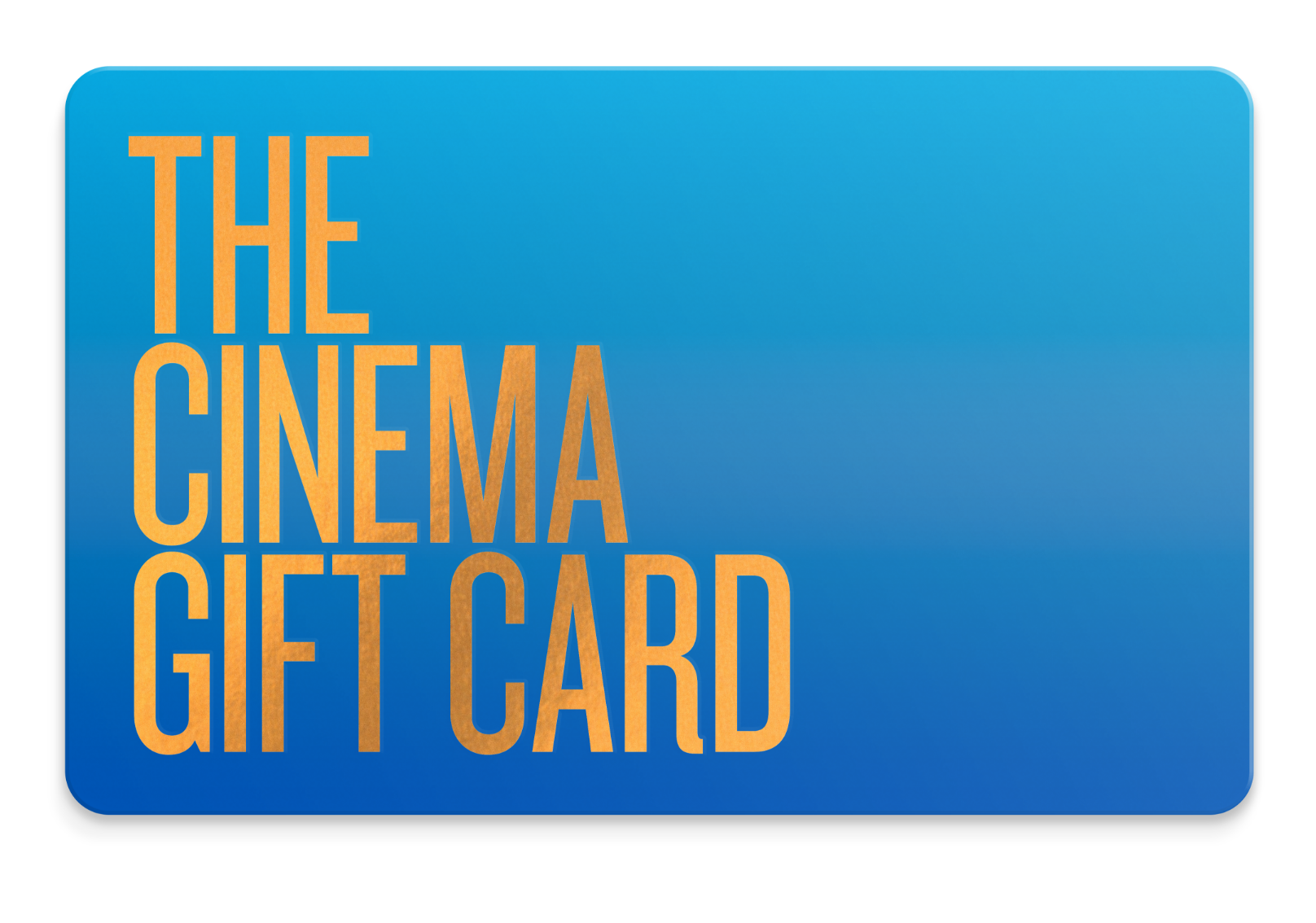 the cinema giftgard gift card--gift ideas for young women