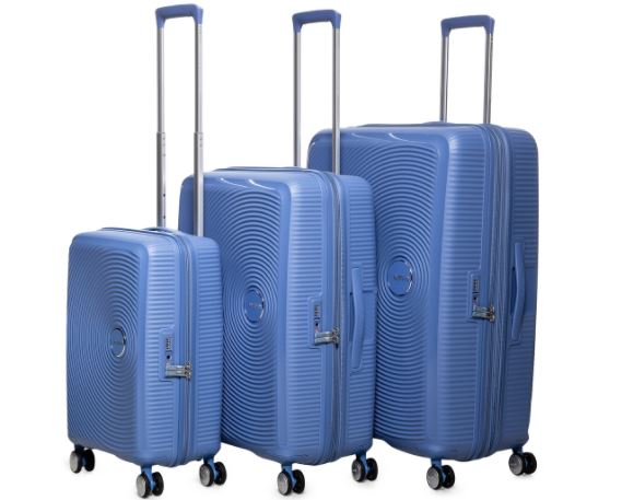 travelling luggage suitcase set