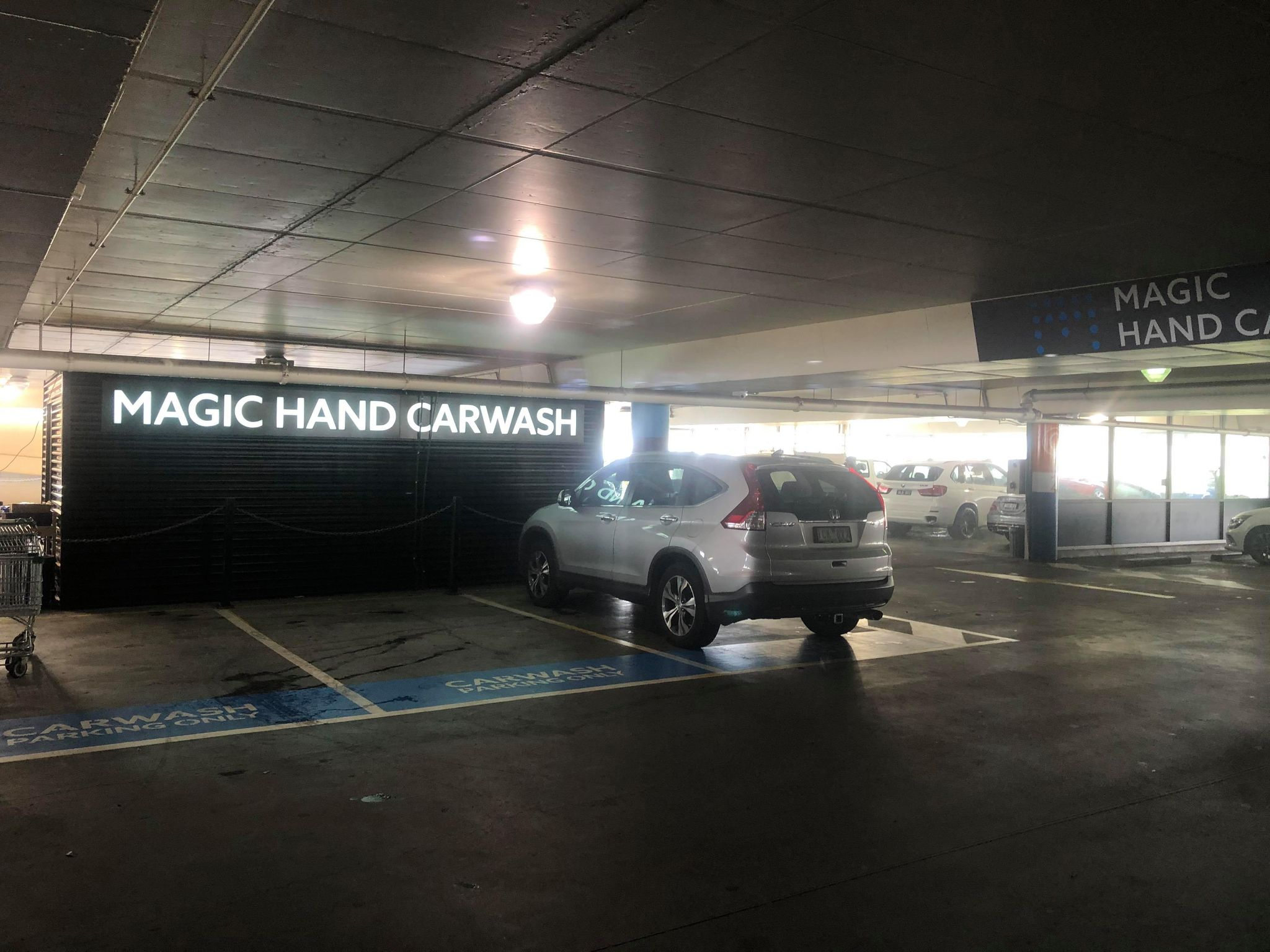 pacific werribee december 2020 magic hand car wash