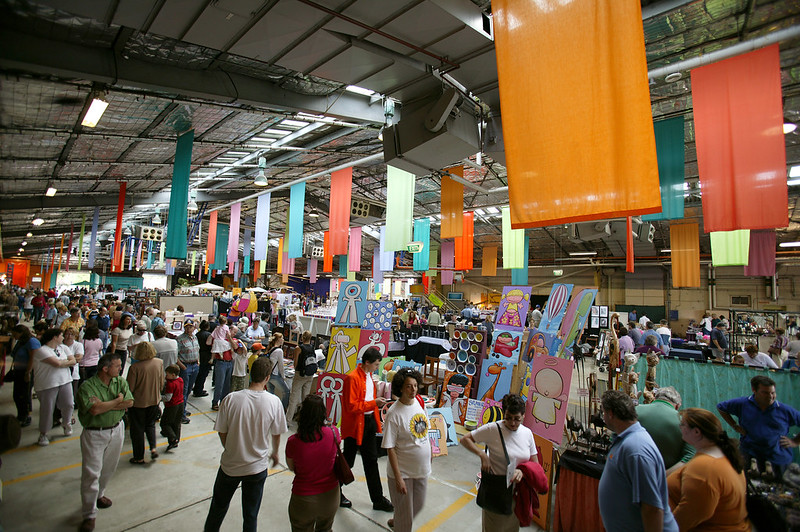 Old Bus Depot Markets things to do in canberra with kids