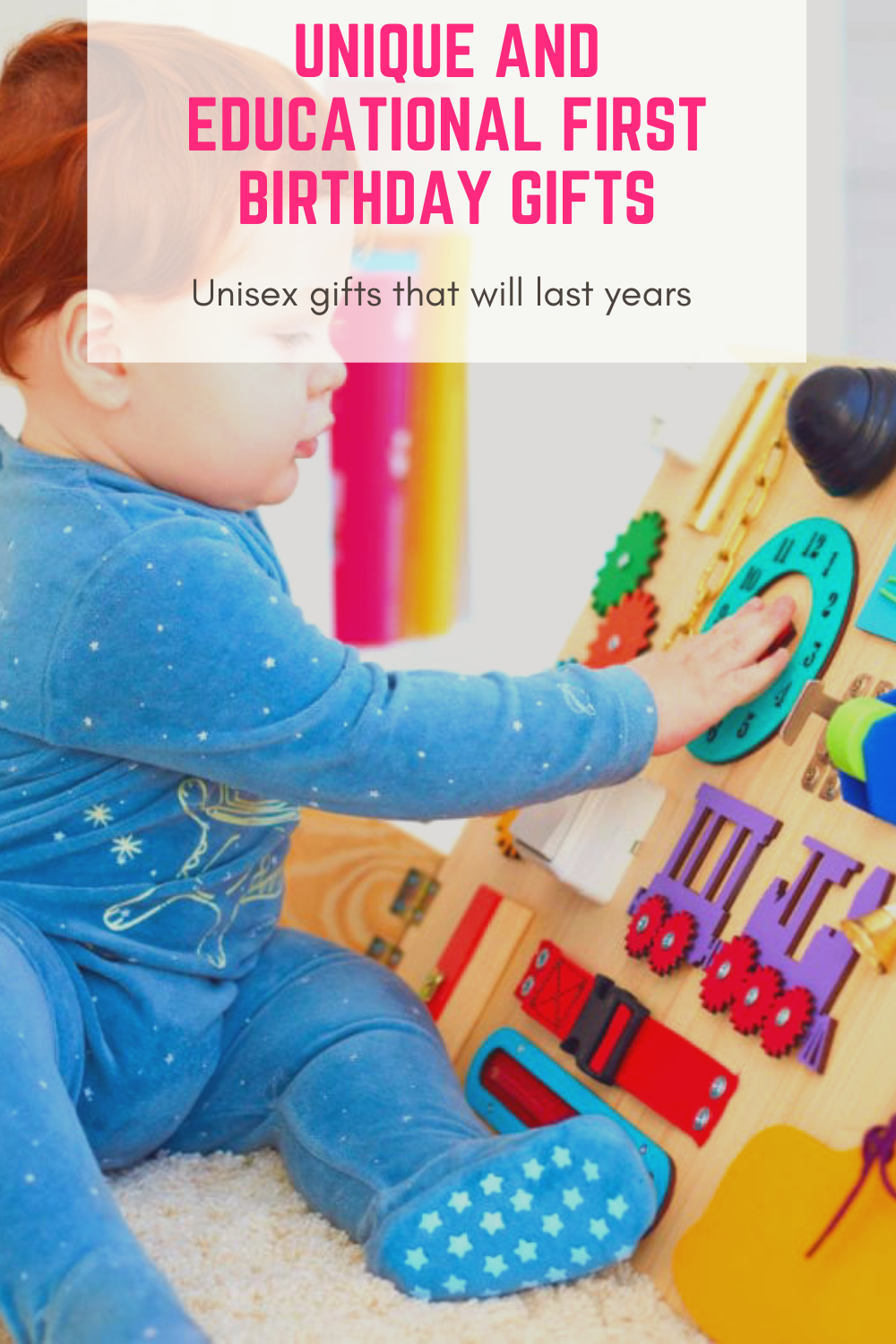 Educational first birthday gifts