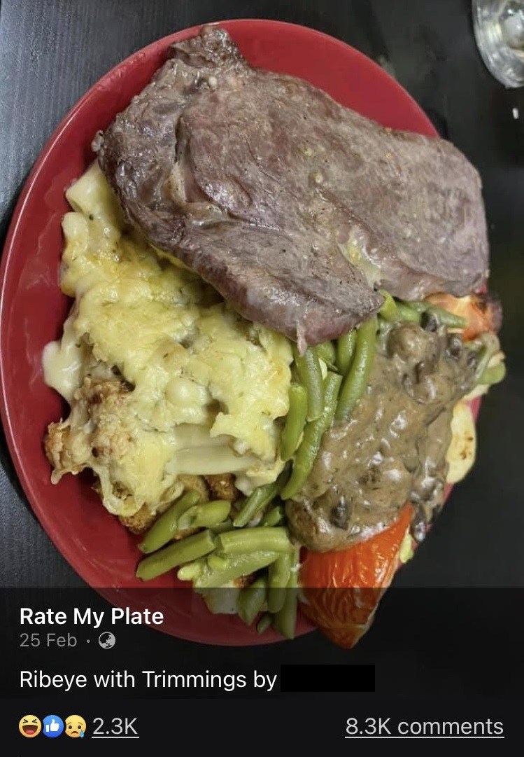 Cooked in the dishwasher by the look of it rate my plate