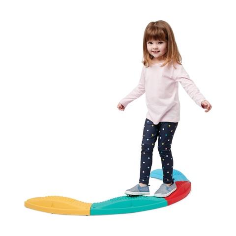 curved balance beams montessori toys kmart