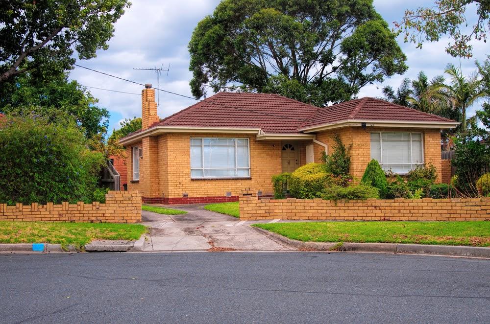 typical Australian house. Melbourne,Australia