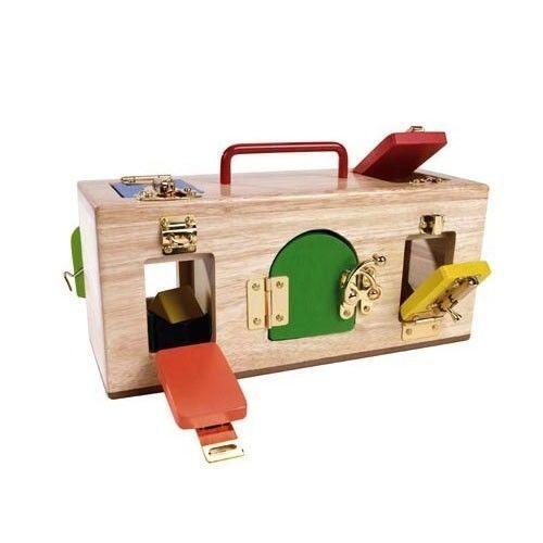 lockbox toy lock box busy cube