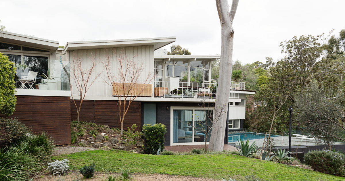 mid-century modernist house australia