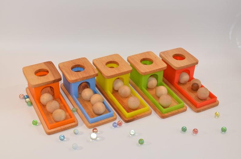 object permanence box