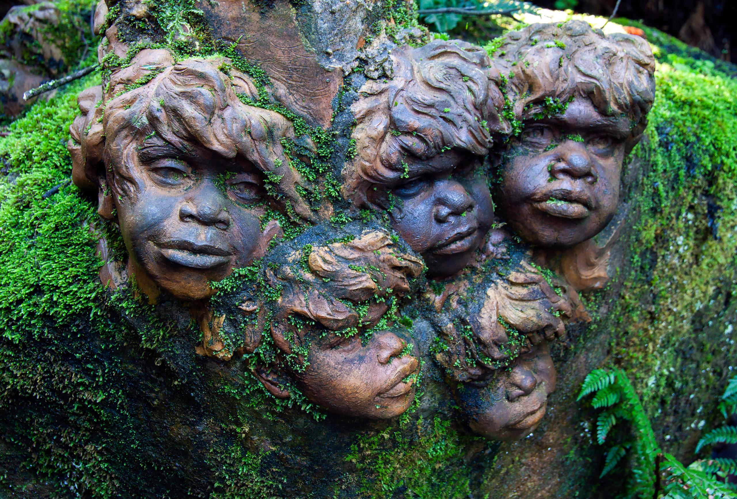 william rickets sanctuary aboriginal art sculpture