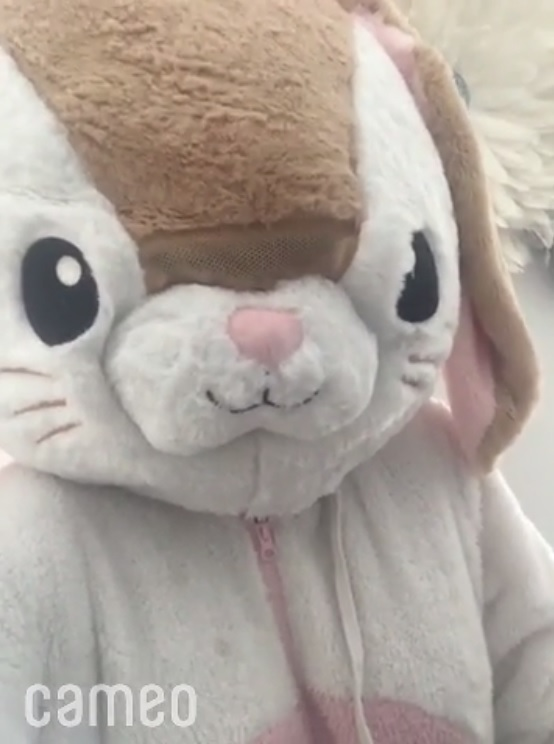 the easter bunny personalised video cameo