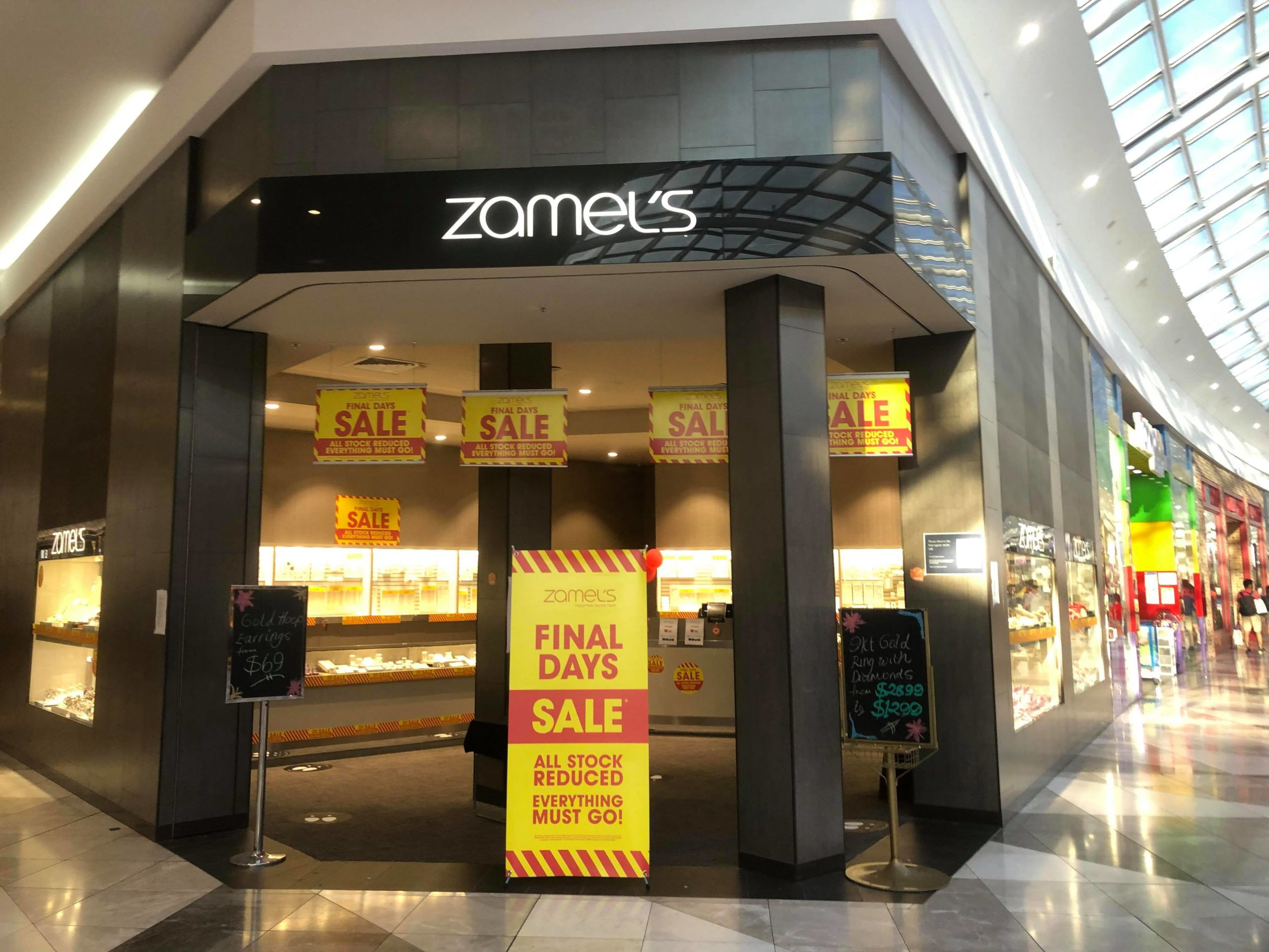 zamels pacific werribee january 2021